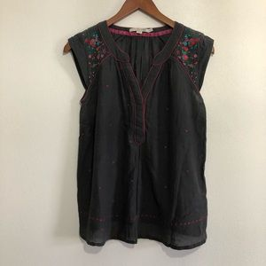Embroidered Boden tank